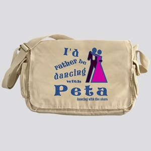 Dancing With Peta Messenger Bag
