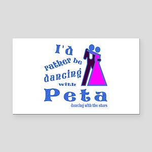 Dancing With Peta Rectangle Car Magnet