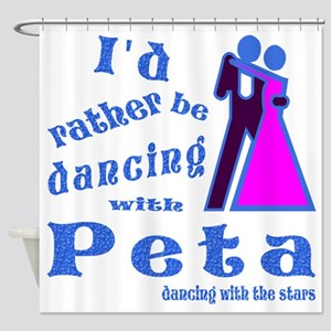 Dancing With Peta Shower Curtain