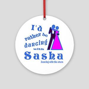Dancing With Sasha Ornament (Round)
