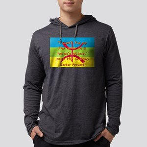I Won't Tie Up The Mule - Berber Mens Hooded Shirt
