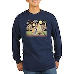 Price's Beauty & Beast Long Sleeve Dark T-Shirt