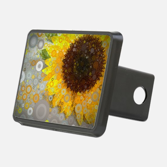 modern abstract circle pat Hitch Cover