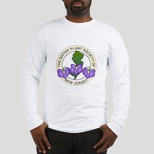 Native Plant Society of NJ Logo Long Sleeve T-Shir