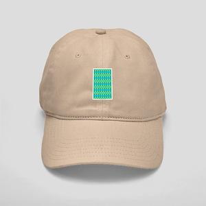 Blue Honeycomb Cap