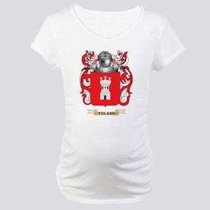 Toledo Family Crest (Coat of Arms) Maternity T-Shi