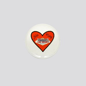 Vegas Valentine's Day Mini Button