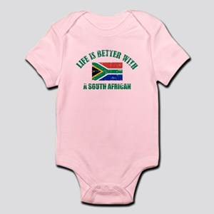 Life is better with a South African Infant Bodysui