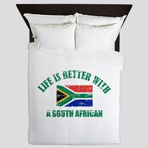 Life is better with a South African Queen Duvet