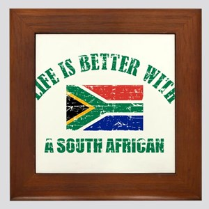 Life is better with a South African Framed Tile