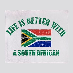 Life is better with a South African Throw Blanket