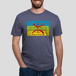 A Well Educated Man - Berber Mens Tri-blend T-Shir