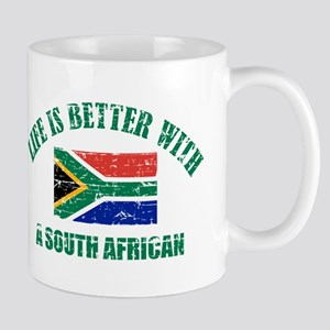 Life is better with a South African Mug