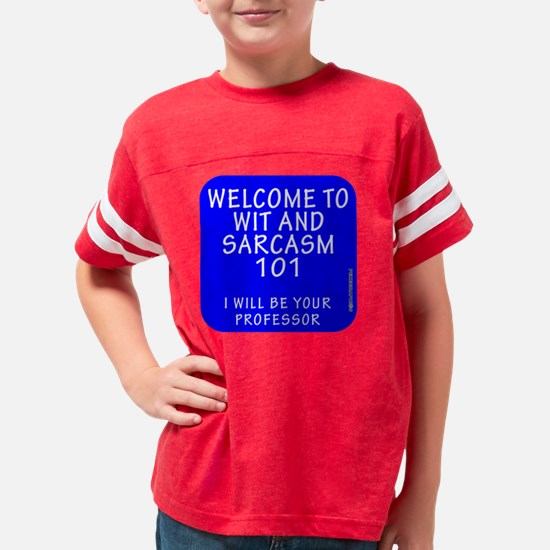 Cute Life is a journey Youth Football Shirt
