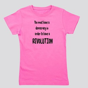 Democratic Revolution Girl's Tee