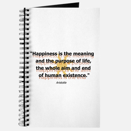 Happiness by Aristotle Journal
