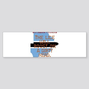 The Lice Will Roost - Botswana Sticker (Bumper)