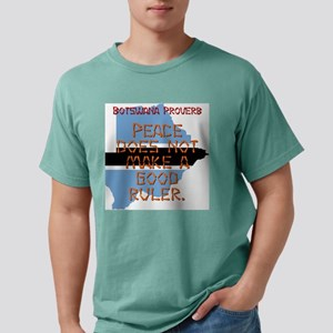 Peace Does Not Make - Botswana Mens Comfort Colors