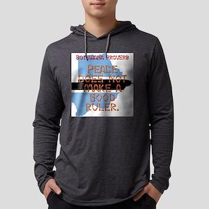 Peace Does Not Make - Botswana Mens Hooded Shirt