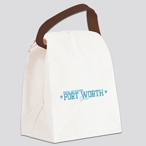 NAS Fort Worth TX Canvas Lunch Bag