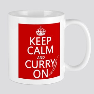 Keep Calm and Curry On Mug