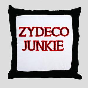 ZYDECO JUNKIE Throw Pillow