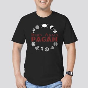 Born Again Sym Red-Blk T-Shirt