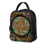 Celtic Aperture Mandala Neoprene Lunch Bag