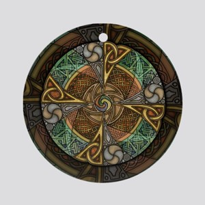 Celtic Aperture Mandala Ornament (Round)