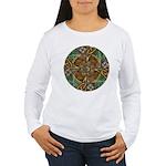 Celtic Aperture Mandala Women's Long Sleeve T-Shir