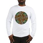 Celtic Aperture Mandala Long Sleeve T-Shirt