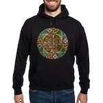 Celtic Aperture Mandala Hoodie (dark)