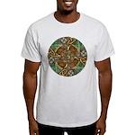 Celtic Aperture Mandala Light T-Shirt