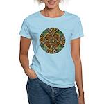 Celtic Aperture Mandala Women's Light T-Shirt