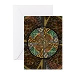 Celtic Aperture Mandala Greeting Cards (Pk of 10)