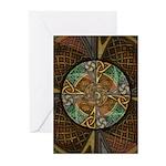 Celtic Aperture Mandala Greeting Cards (Pk of 20)