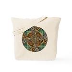 Celtic Aperture Mandala Tote Bag