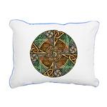 Celtic Aperture Mandala Rectangular Canvas Pillow