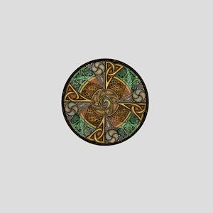 Celtic Aperture Mandala Mini Button