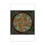 Celtic Aperture Mandala Mini Poster Print