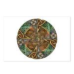 Celtic Aperture Mandala Postcards (Package of 8)