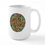 Celtic Aperture Mandala Large Mug