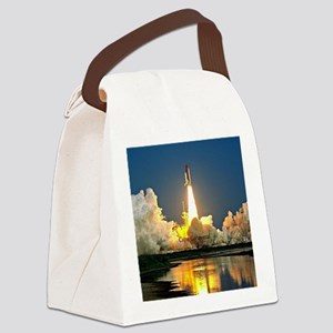 Cape Canaveral Launch Pad Canvas Lunch Bag
