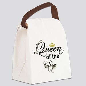 Queen of the Cottage Section Thumb Canvas Lunch Ba