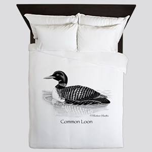 Common Loon Queen Duvet