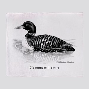 Common Loon Throw Blanket