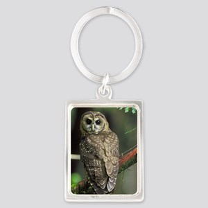 Northern Spotted Owl Keychains