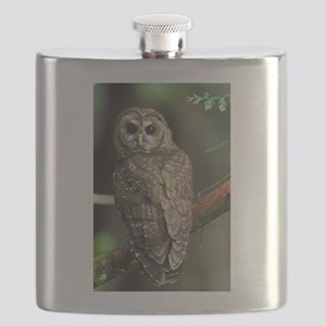 Northern Spotted Owl Flask