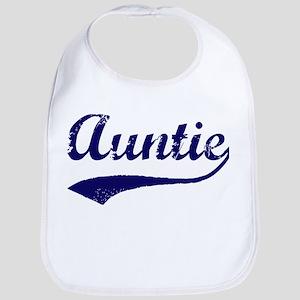 Vintage (Blue) Auntie Bib
