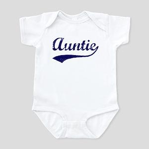 Vintage (Blue) Auntie Infant Bodysuit